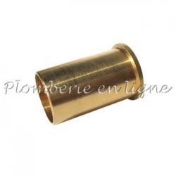 Douille de renfort pour tube de cuivre