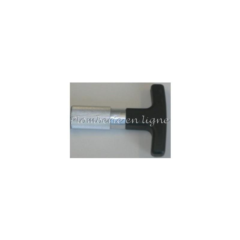 Poignée «T» pour calibreur/alésoirs interchangeables