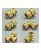 Raccords pour tubes PER à compression
